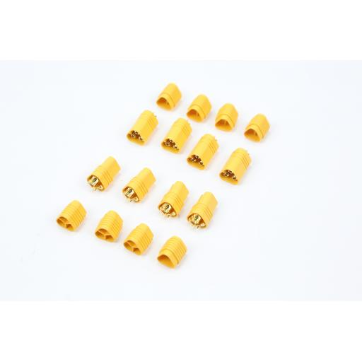 MT60 Power Connector Yellow (male & female), Pack of 4 Pairs