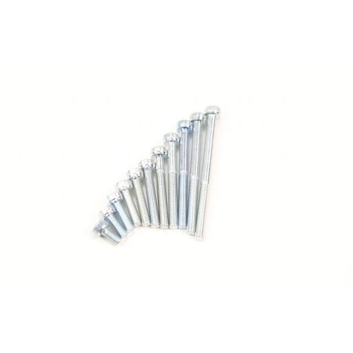 M3 30mm Hex Bolt (x 20)