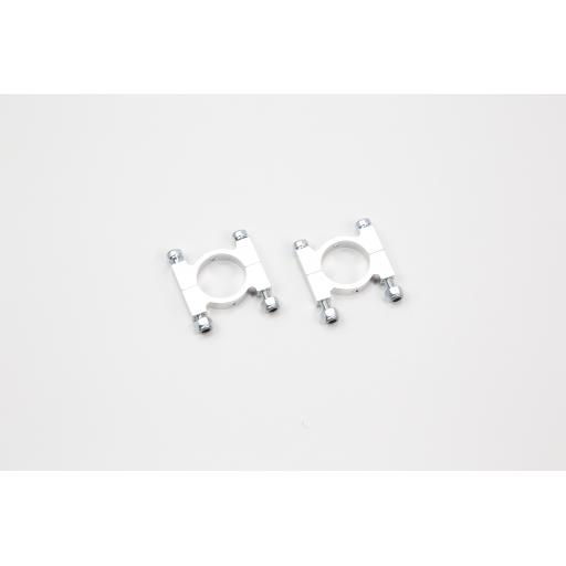 16mm Aluminium Tube Clamps with hardware (pack of 4)
