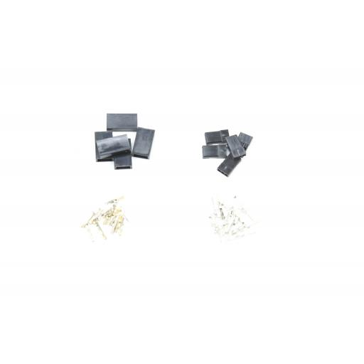 3 Pin Servo Dupont Connector Set, Male & Female (5 of each)