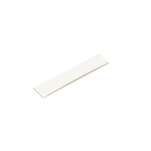 Heatshrink 12mm Diameter, WHITE - 100cms